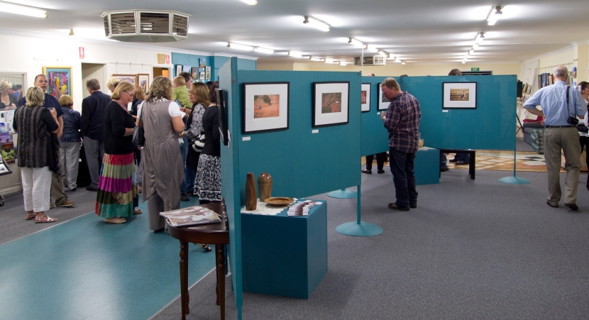2011 Cannonball Run exhibition @ Pittsworth Regional Art Gallery