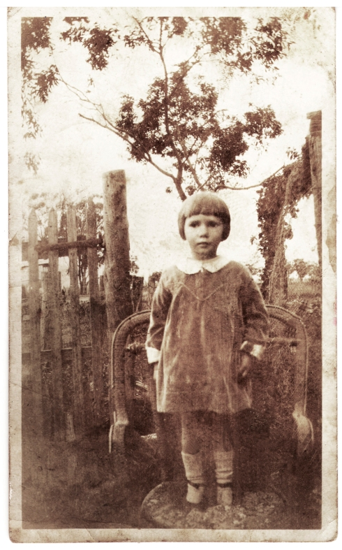 Ruby Spowart aged about3