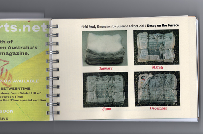 2011 Field Report pages