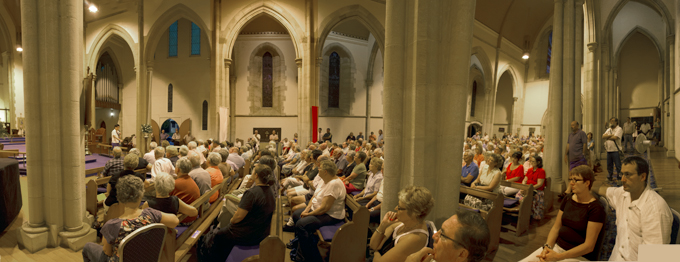 St Lukes Church - Toowoomba Range Public Meeting  Photo: Doug Spowart