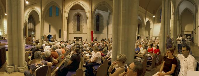 St Lukes Church - Toowoomba Range Public Meeting  Photo: Doug Spowart