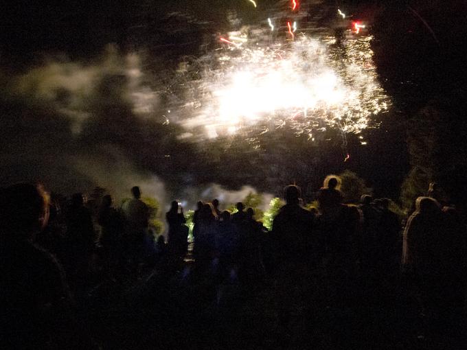 Toowoomba New Years Eve fireworks display Photo: Doug Spowart