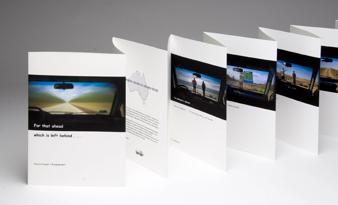 CarCamera concertina book