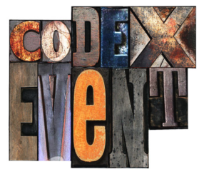 CODEX Event graphic