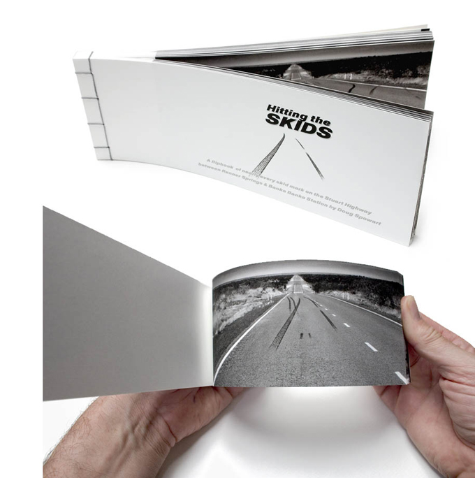 The 'Hitting the Skids' flipbook
