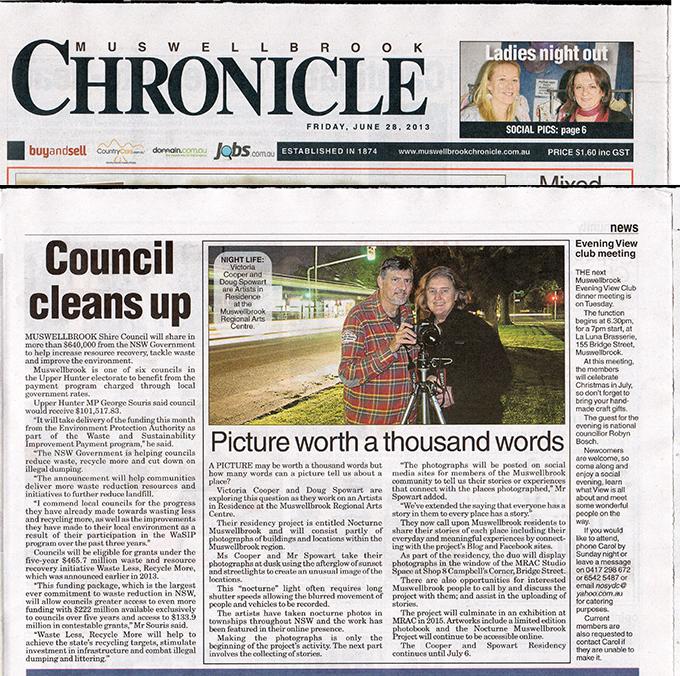 Chronicle News story: 28 June 2013