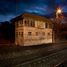 Signal Box Muswellbrook Station
