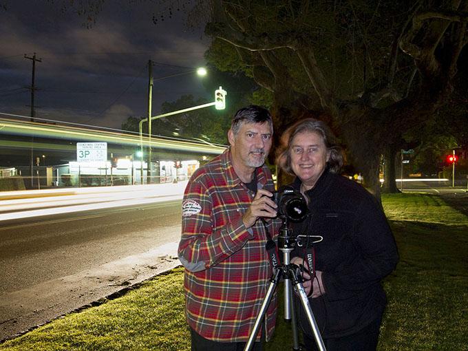 Victoria Cooper and Doug Spowart