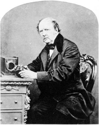 William Henry Fox Talbot, by John Moffat, 1864 By Michael Maggs [Public domain], via Wikimedia Commons