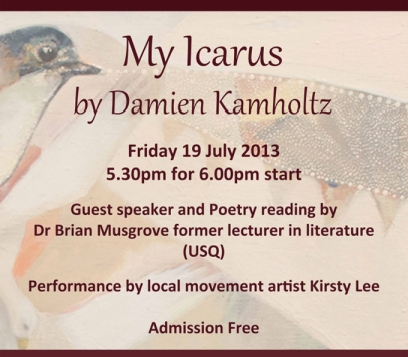My Icarus invitation