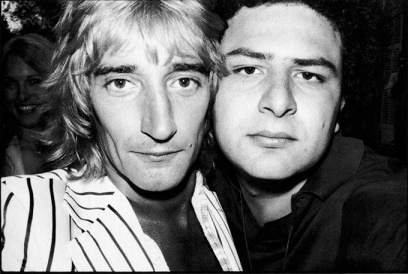 Jean Pigozzi with Rod Stewart