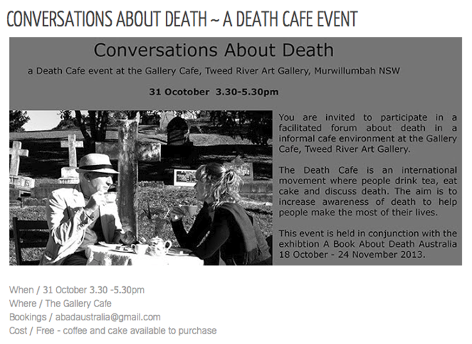 Death Cafe Event