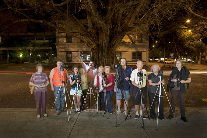 A nocturne shoot-out with the Grafton Camera Club