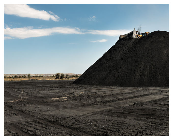 From the 'Extraction' series Export ready semi-hard coking coal in a Bowen Basin coal mine (Moorvale).