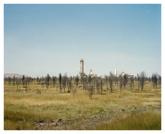From the 'Extraction' series View towards Dawson Mine Complex, Moura.