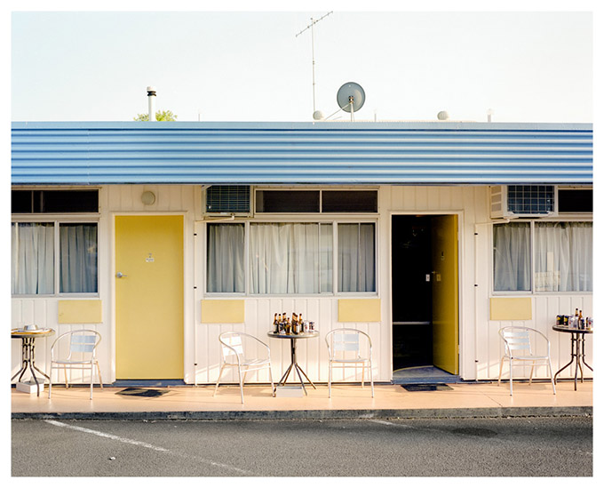 5am Three Moon Motel, Monto.  FIFO and DIDO have entered the Australian vocabulary, along with debates about their social impacts. As a result, accommodation is often difficult to find, and motels have become temporary homes for transient workers.