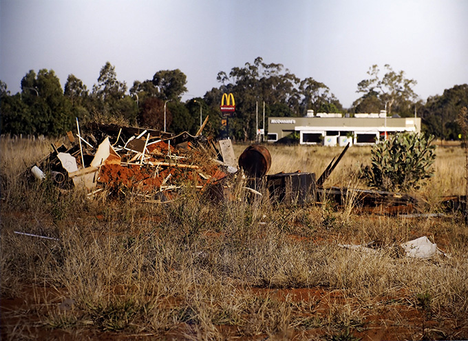 Moranbah McDonald's which lies on the outskirts of town. ... Photo: Julia Whitnell
