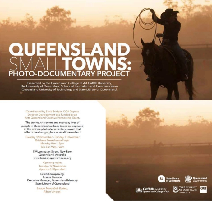 Queensland Small Towns Documentary Project - Invite