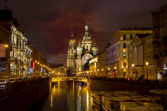 St Petersburg by Carolyn Johnson