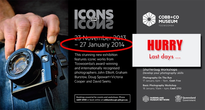 Cobb+Co Museum - Icons on Icons events