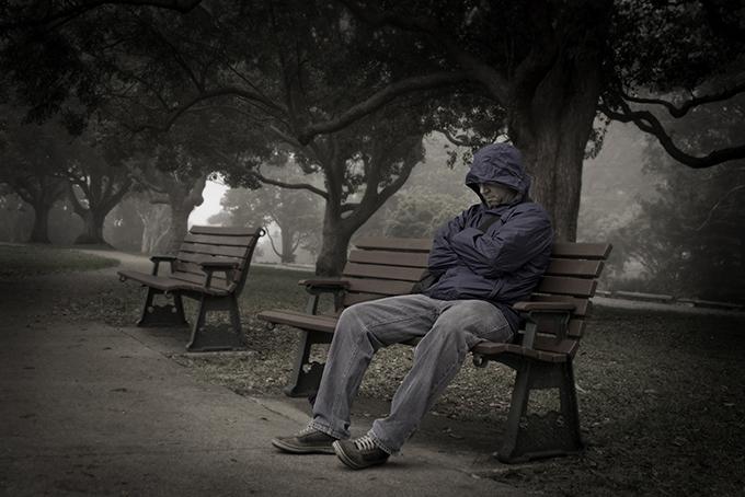 A Lone Man by Riry Foran
