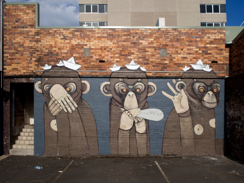 Buildings with tattoos: First Coat Street Art Festival (6/6)