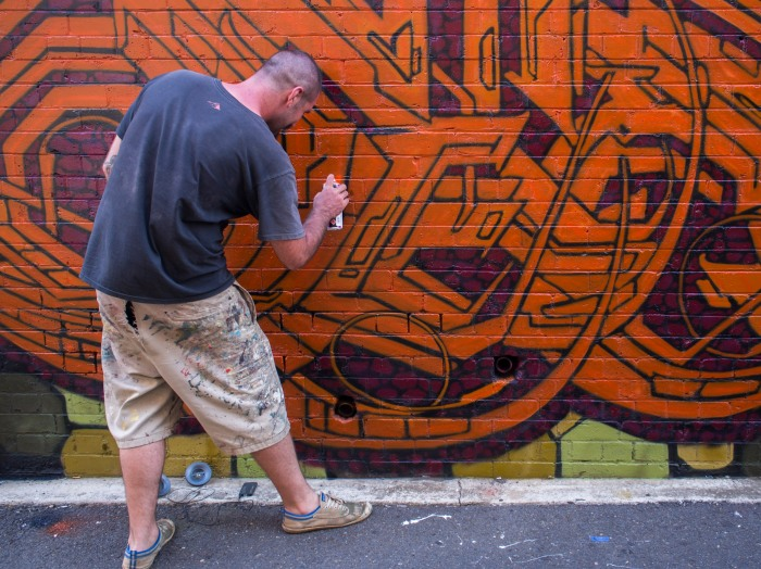 In Bank Lane - PHOTO Doug Spowart ©2014