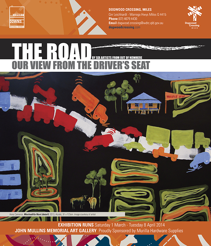 The Road: The veiw from the driver's seat Poster