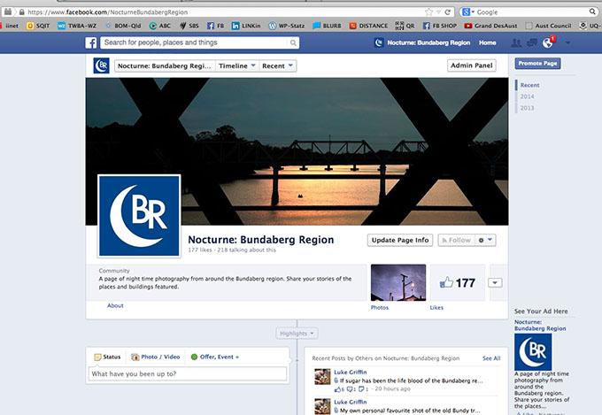 Nocturne Bundaberg Facebook Page