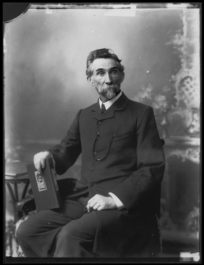 Portrait of Thomas Mathewson from the Sandy Barrie Collection