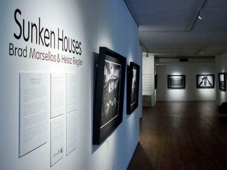 Sunken Houses Didactic panels