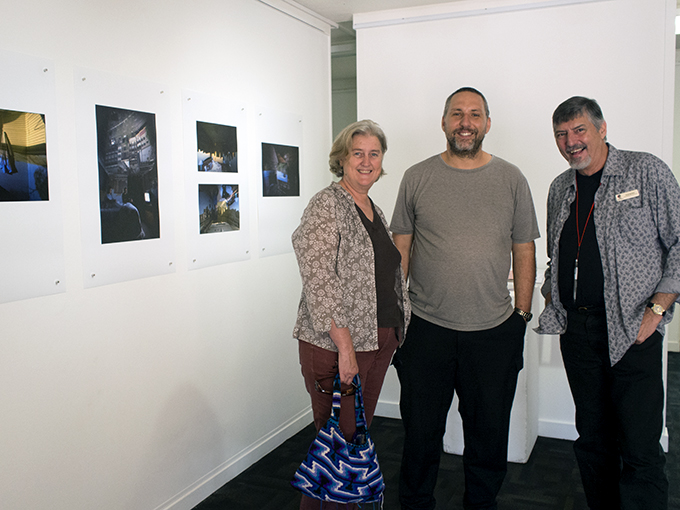 Curator Simon Mee and Vicky & Me