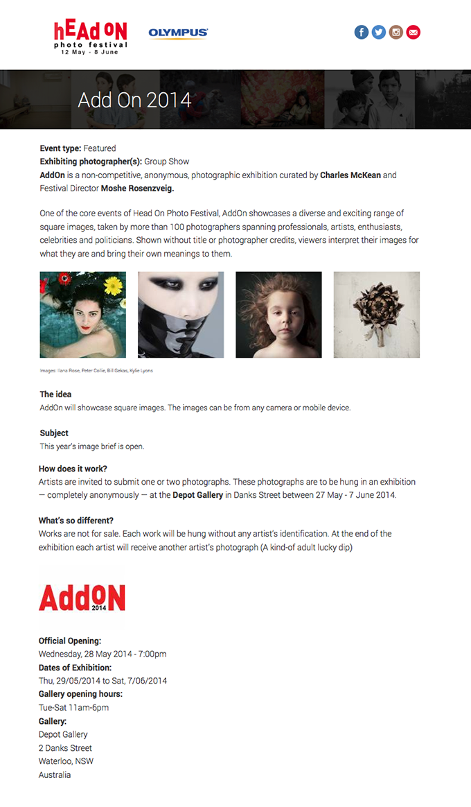 HEADon-Website