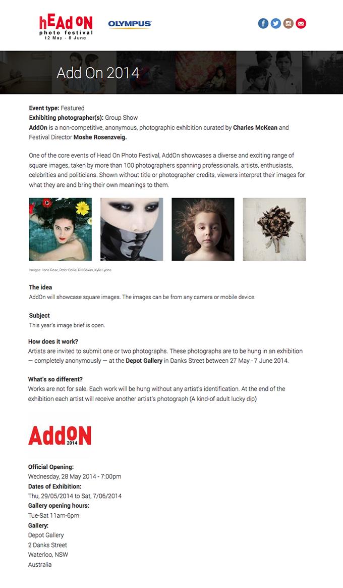 HEADon-Website