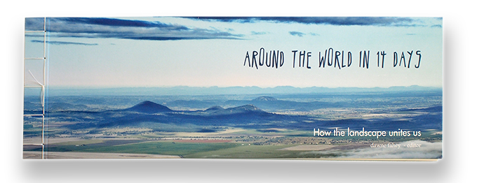The book 'Around the world in 14 days'