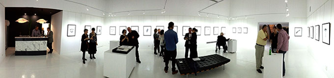 Translucence @ Maud Gallery, Brisbane. . iPhone Photo: Doug Spowart