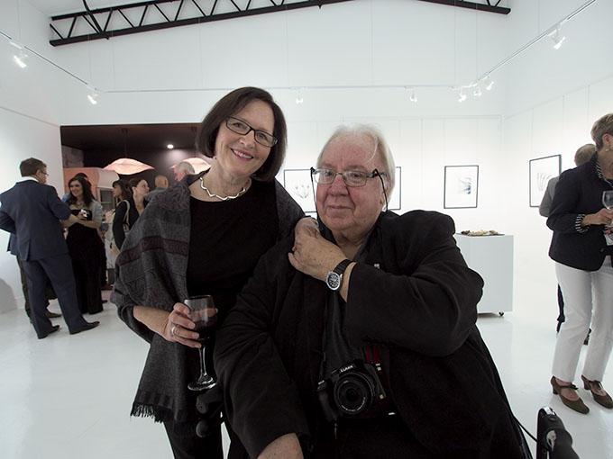 Jacqui Dean + Robert MacFarlane  Photo: Doug Spowart
