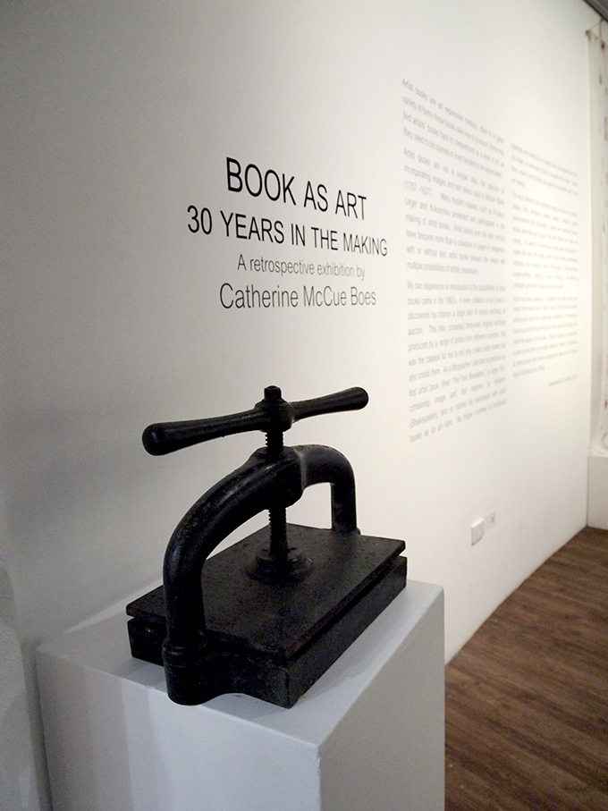 BOOKS AS ART: 30 YEARS IN THE MAKING – Catherine McCue Boes (1/6)