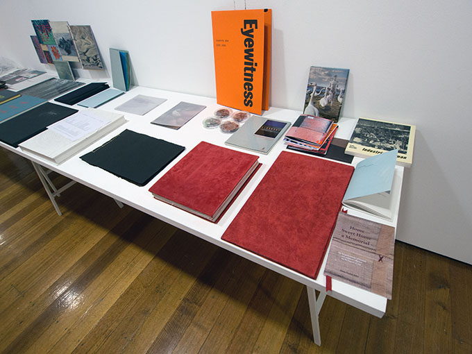 GEORGE PATON GALLERY: Artist's Books (reprised) Exhibition (6/6)