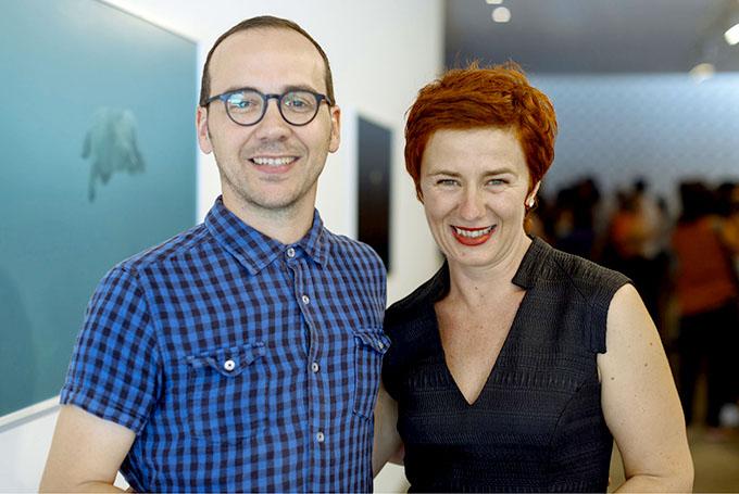 Daniel Boetker-Smith + Heidi Romano PHOTO: Lauren Dunn www.artdocumentation.com.au