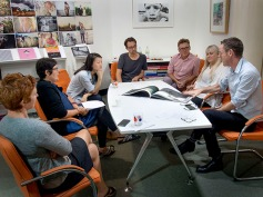 The Australian Photobook of the Year judging team in action