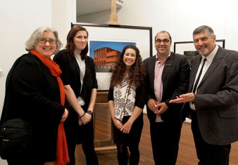 Nocturne Musswellbrook exhibition opening with the Gallery team