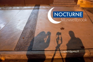 Out at night shooting images for the Nocturne Muswellbrook project