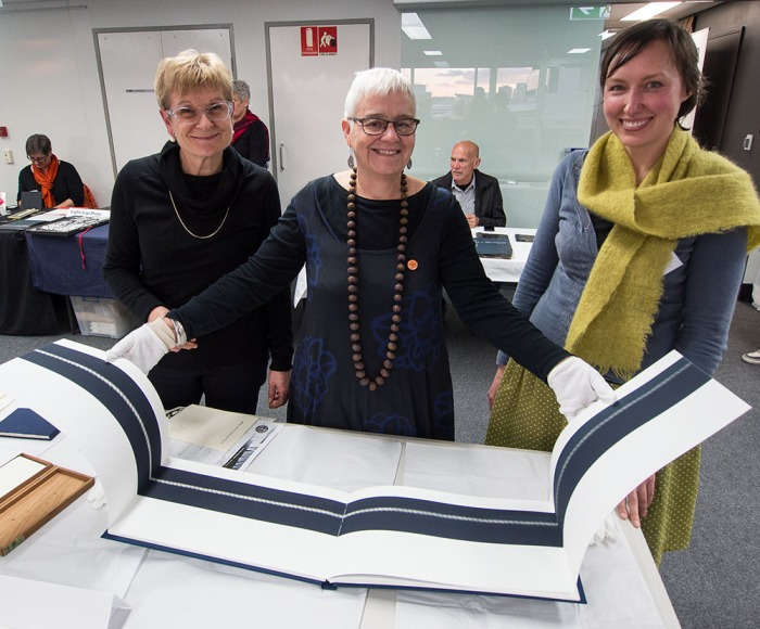 Photo from ABBE Artists Book Conference July 16, 17 & 18 2015 at the Queensland College of Art