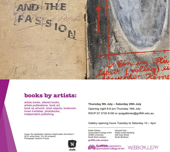 Invite – 'Books by Artists'