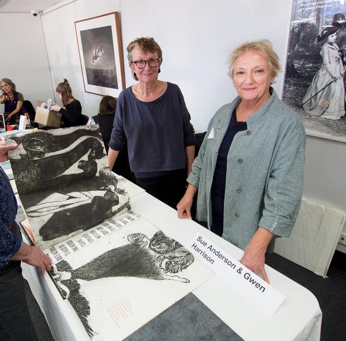 Sue Anderson + Gwen Harrison