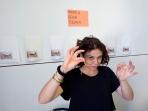 Bella Capezio making Insta Photobooks for APPA at the Volume Art Book Fair
