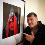 A David Williams portrait of Doug at the Ballarat International Foto Biennale