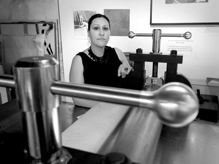 Deanna Hitti - Baldessin Press Studio SLV Creative Fellowship Residency announc