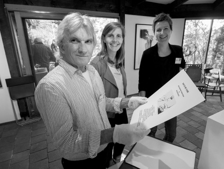 Rob Hails-Baldessin Press Studio SLV Creative Fellowship Residency announcement event Spetember 27, 2015